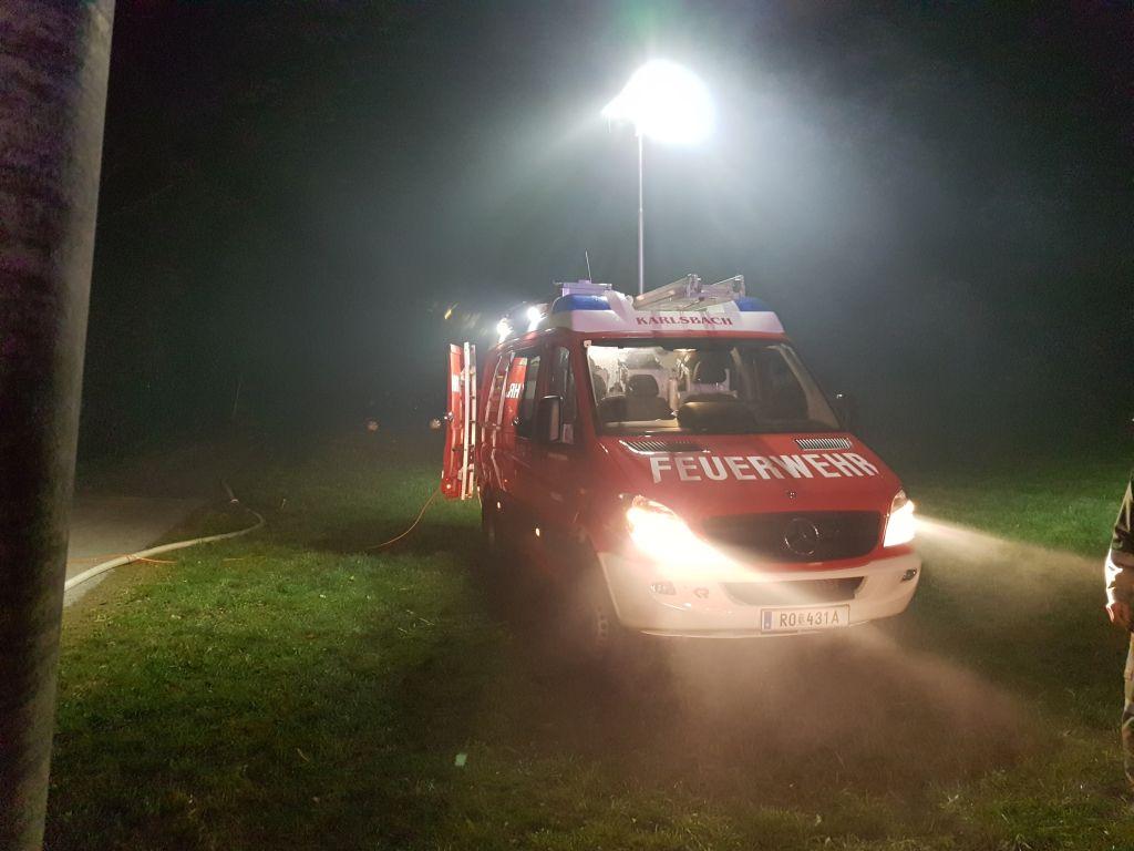 Brandeinsatz 11.2019 Unser KLF im Einsatz