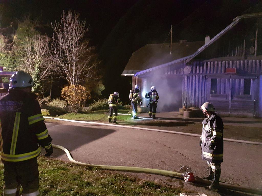 Brandeinsatz 11.2019 Starke Rauchentwicklung