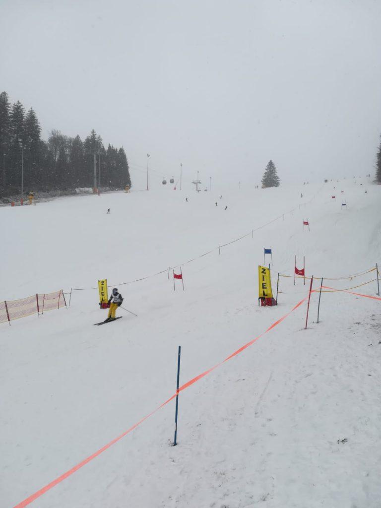 FF Bezirksschirennen 01.2020 Zieldurchlauf1