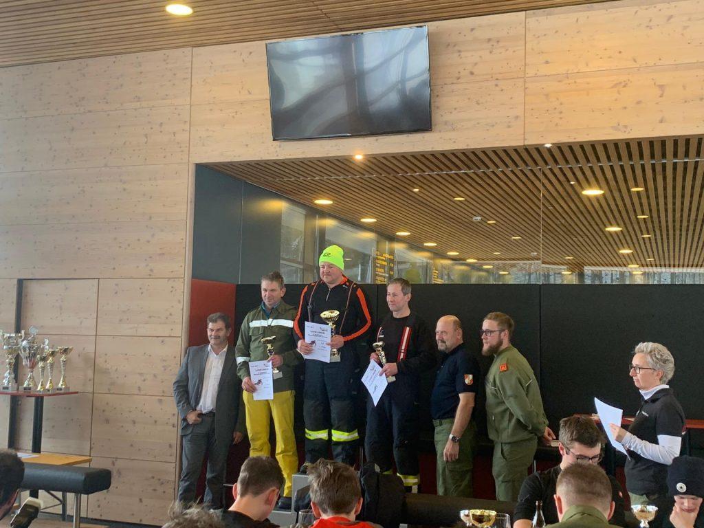 FF Bezirksschirennen 01.2020 Siegerehrung